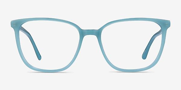 Outside Bleu Acétate Montures de lunettes de vue