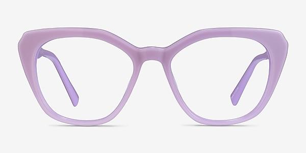 Judy Purple Acetate Eyeglass Frames
