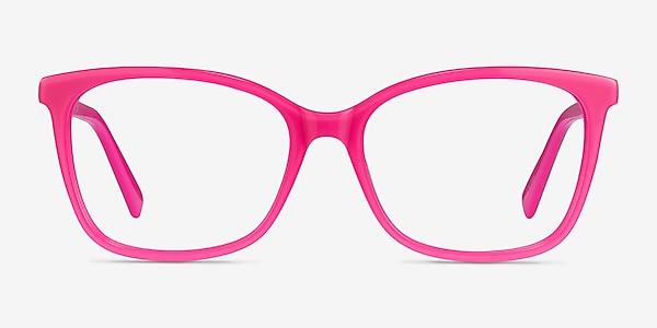 Michelle Pink Acetate Eyeglass Frames