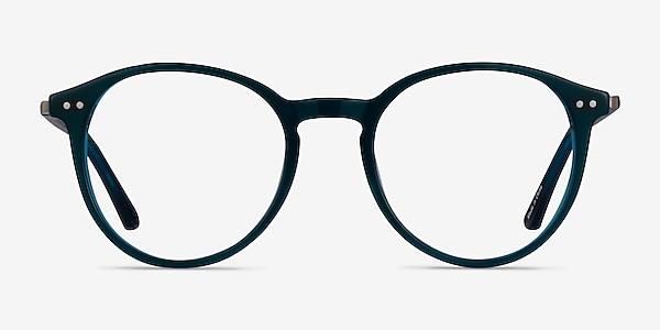 Riviere Teal Acetate Eyeglass Frames