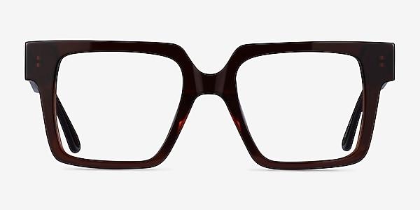 Granada Dark Brown Acetate Eyeglass Frames