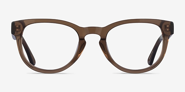 Cezanne Clear Brown Acetate Eyeglass Frames