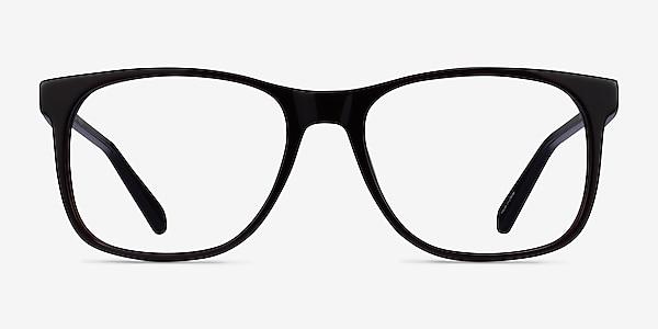 Joshua Dark Brown Acetate Eyeglass Frames