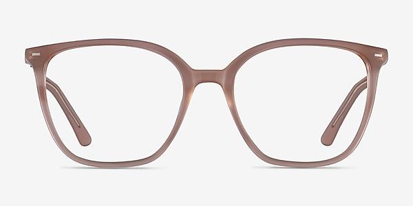 Carola Clear Brown Acétate Montures de lunettes de vue