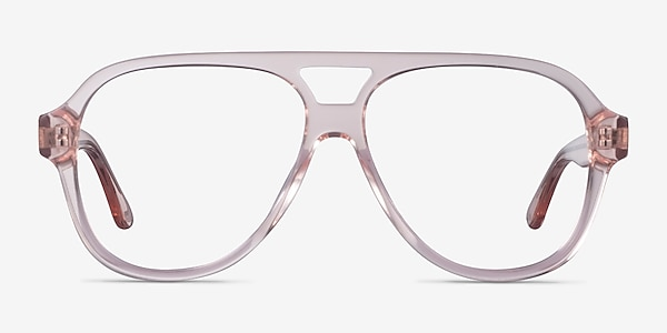Iggy Clear Pink Acetate Eyeglass Frames