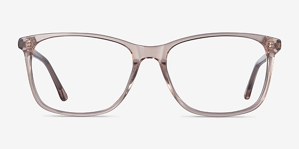 Crescendo Clear Pink Acetate Eyeglass Frames