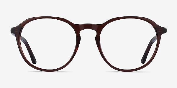 Halcyon Dark Brown Acetate Eyeglass Frames