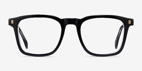 Murmur Black Acetate Eyeglass Frames
