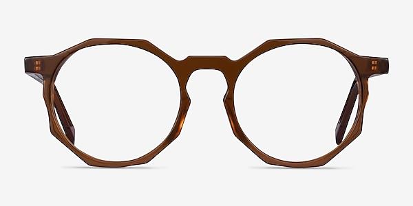 Primula Clear Brown Acetate Eyeglass Frames