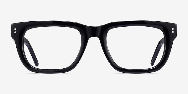 Kensington Black Acetate Eyeglass Frames