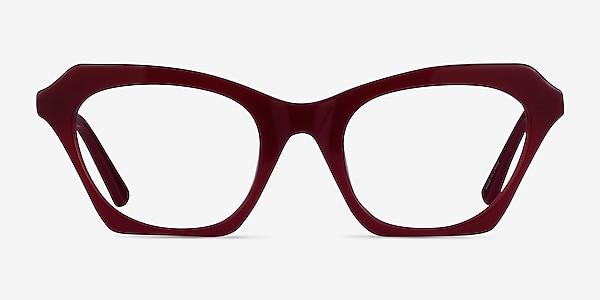 Alwyne Burgundy Acetate Eyeglass Frames