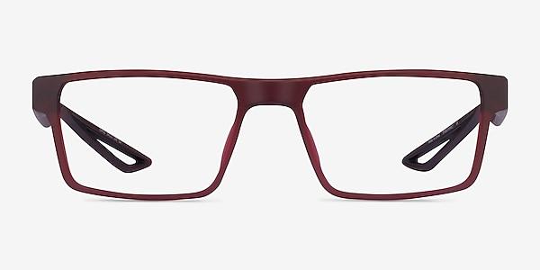Icarus Matte Red Plastic Eyeglass Frames