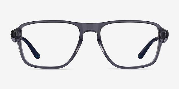 Euclid Clear Gray Plastic Eyeglass Frames