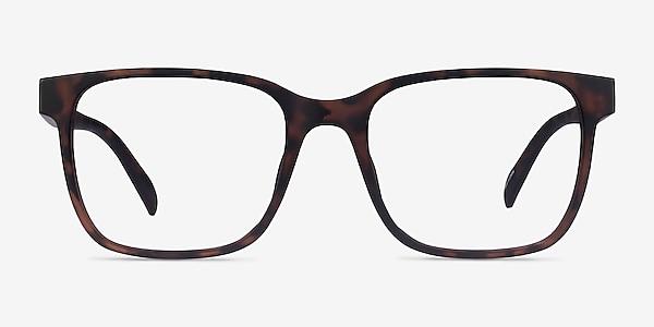 Alder Matte Tortoise Plastique Montures de lunettes de vue