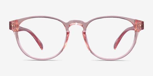 Hawthorne Clear Nude Plastic Eyeglass Frames
