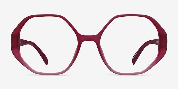 Cypress Matte Red Plastic Eyeglass Frames