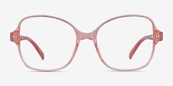 Arolla Clear Nude Plastic Eyeglass Frames