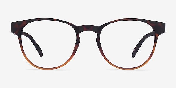 Osier Matte Trotoise Brown Plastic Eyeglass Frames