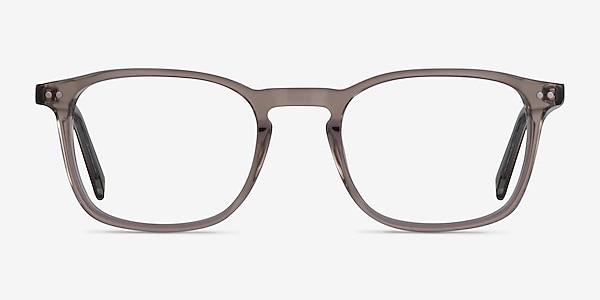 Holley Clear Brown Acétate Montures de lunettes de vue