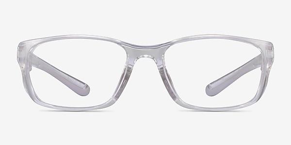 Furnace Clear Gray Plastic Eyeglass Frames