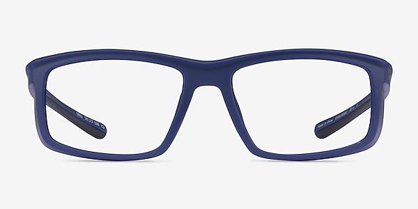 Drill Navy Black Plastic Eyeglass Frames