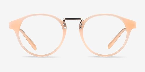 Get Lucky Ivory/Silver Acetate-metal Montures de lunettes de vue