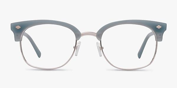 Japan Morning  Blue  Acetate-metal Eyeglass Frames