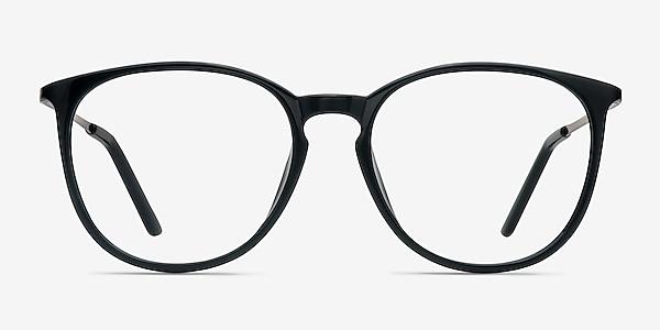 Naomi Black Plastic-metal Eyeglass Frames