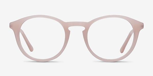 White Moon Pink Acetate-metal Eyeglass Frames