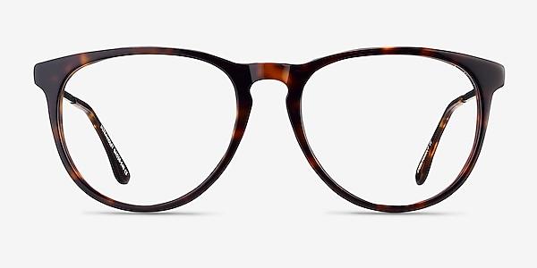 Ultraviolet Tortoise Acetate-metal Eyeglass Frames