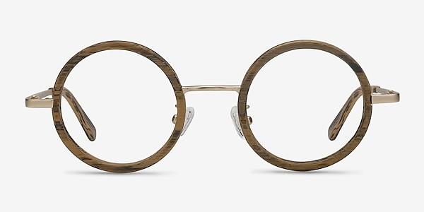 Roaring Marron Acetate-metal Montures de lunettes de vue