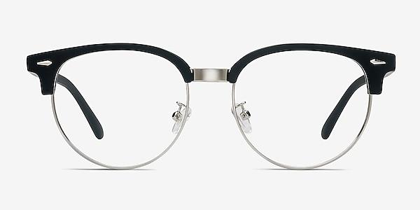 Narita Matte Black Plastic-metal Eyeglass Frames