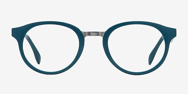 Aisu Matte Green Plastic-metal Eyeglass Frames