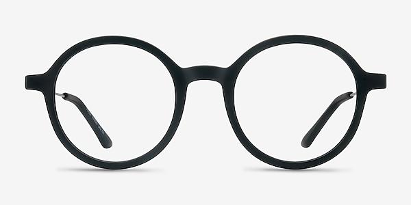 Potter Matte Black Plastic-metal Eyeglass Frames
