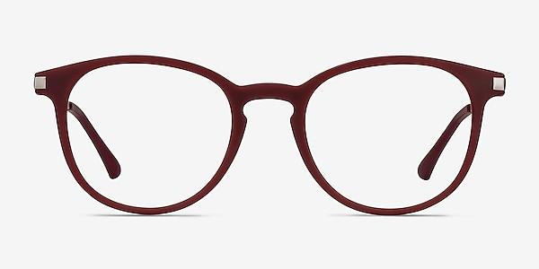 Mirando Raspberry Plastic-metal Eyeglass Frames