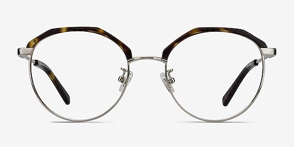 Festival Tortoise Acetate-metal Eyeglass Frames