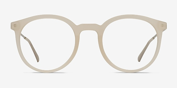 Grin Matte Clear Plastic-metal Eyeglass Frames