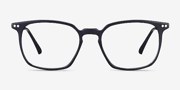 Ghostwriter Navy Plastic-metal Eyeglass Frames