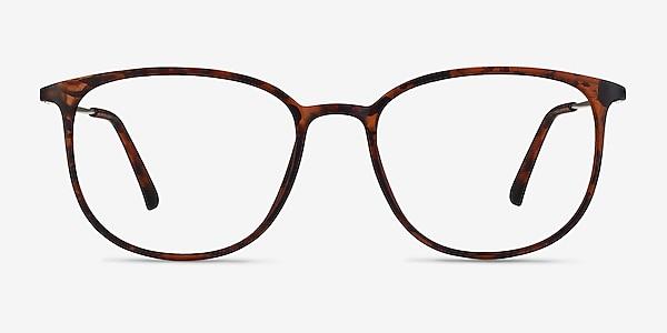 Strike Matte Tortoise Plastic-metal Eyeglass Frames