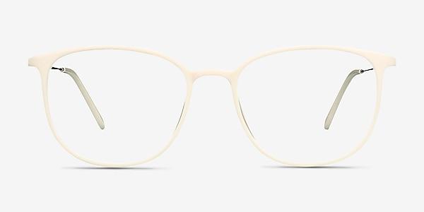Strike white Plastic-metal Eyeglass Frames