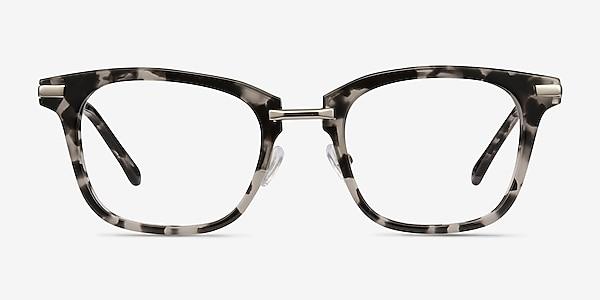 Candela Gray Floral Acetate-metal Montures de lunettes de vue