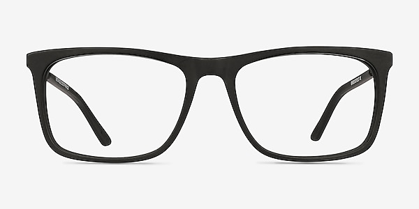 Instance Noir Acetate-metal Montures de lunettes de vue