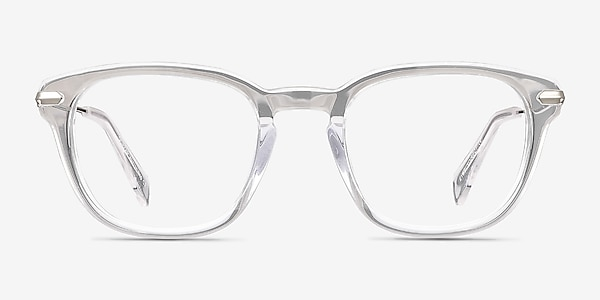 Quazar Clear Acetate-metal Eyeglass Frames