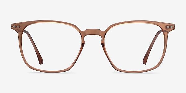 Ghostwriter Clear Orange Plastic-metal Montures de lunettes de vue
