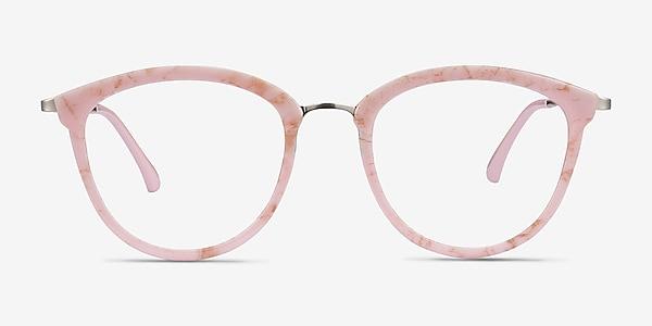 Lightworks Pink Plastic-metal Eyeglass Frames