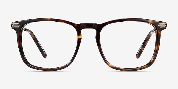 Glory Écailles Acetate-metal Montures de lunettes de vue