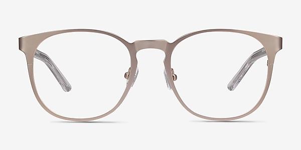Resonance Rose Gold Acetate-metal Eyeglass Frames
