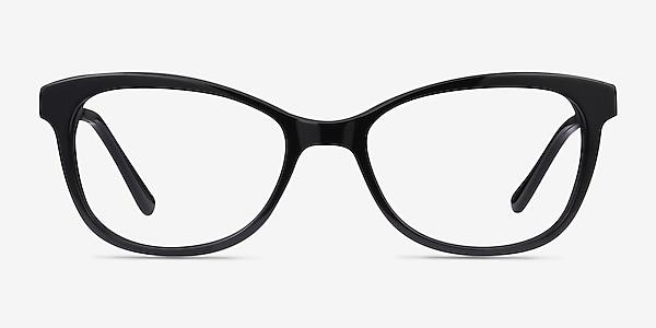 Ripple Black Acetate-metal Eyeglass Frames