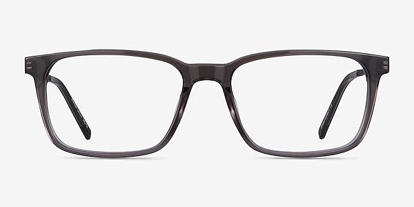 Stanza Gray Acetate-metal Eyeglass Frames