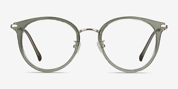 Hollie Vert Plastic-metal Montures de lunettes de vue